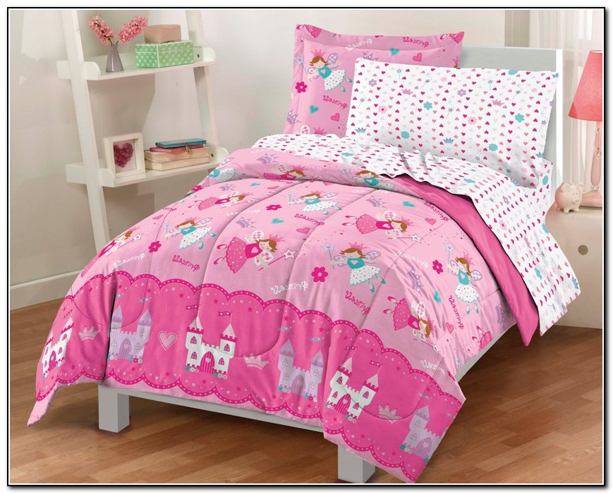 Girls Bedding Sets Twin Pink