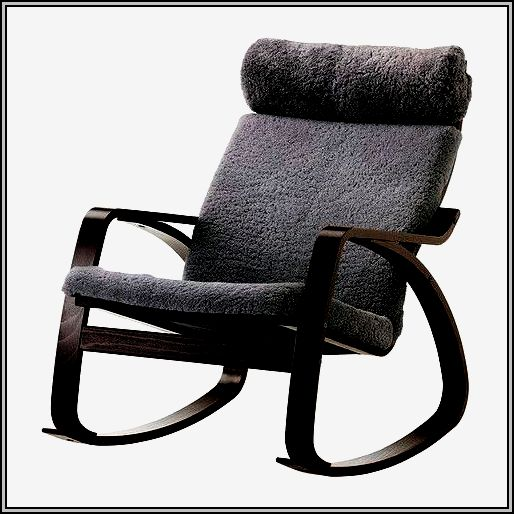 Gray Nursery Rocking Chair