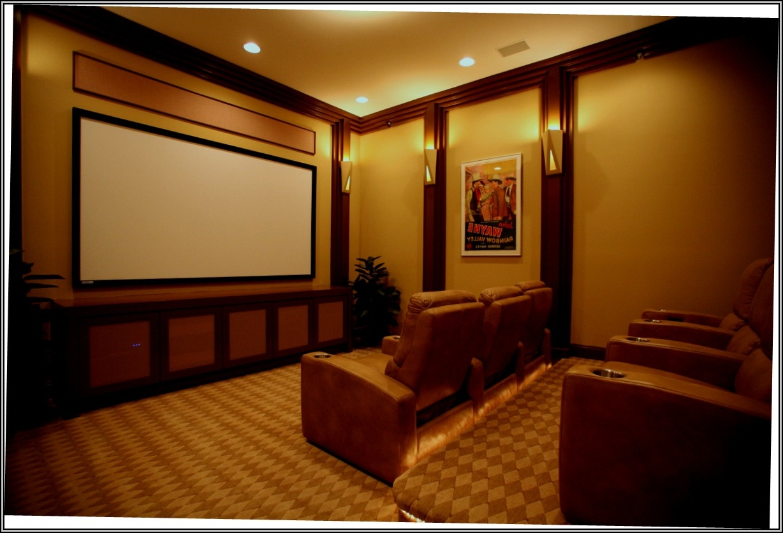 Home Theater Furniture Ideas