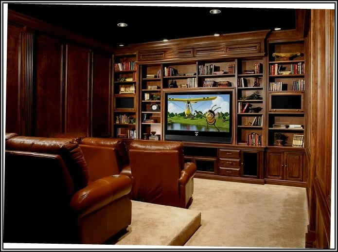 Home Theater Furniture Layout