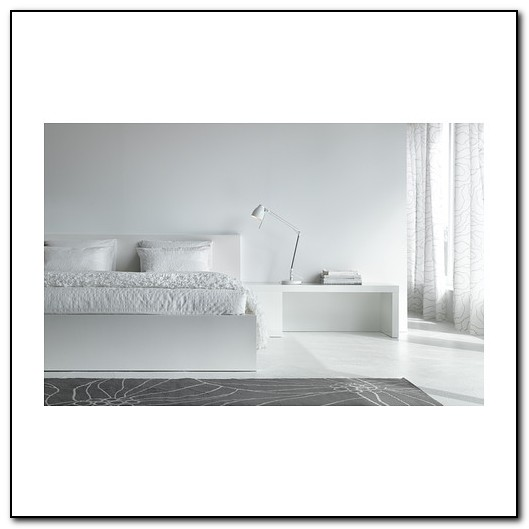 Ikea Malm Bed White
