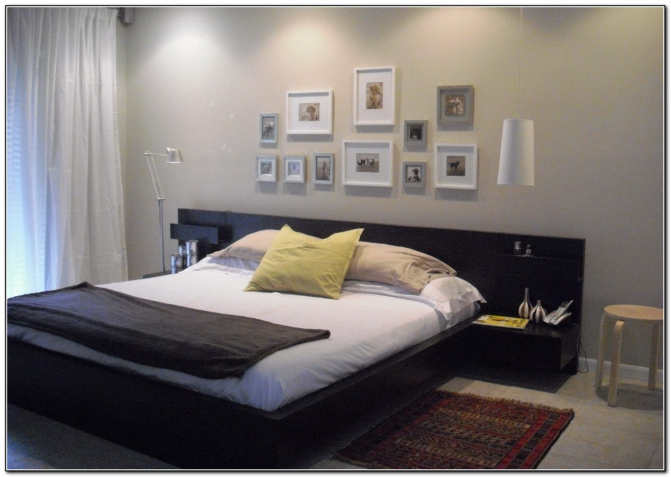 Ikea Malm Bed With Side Tables