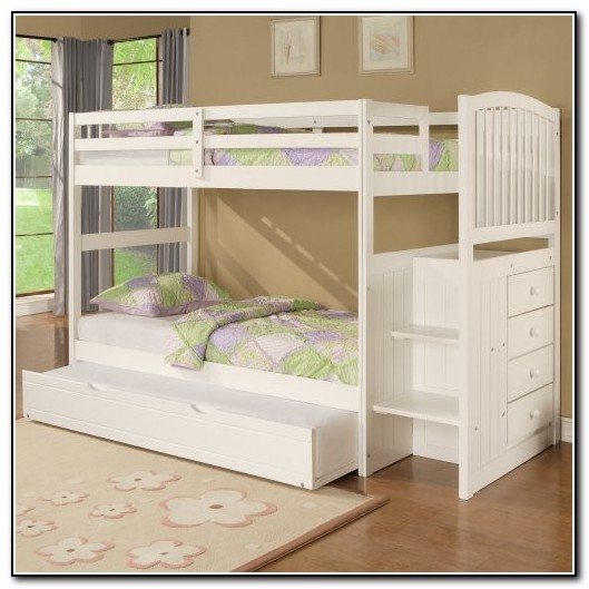 Kids Bunk Beds With Storage Stairs