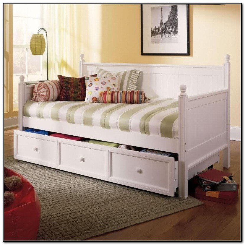 Kids Day Bed With Trundle