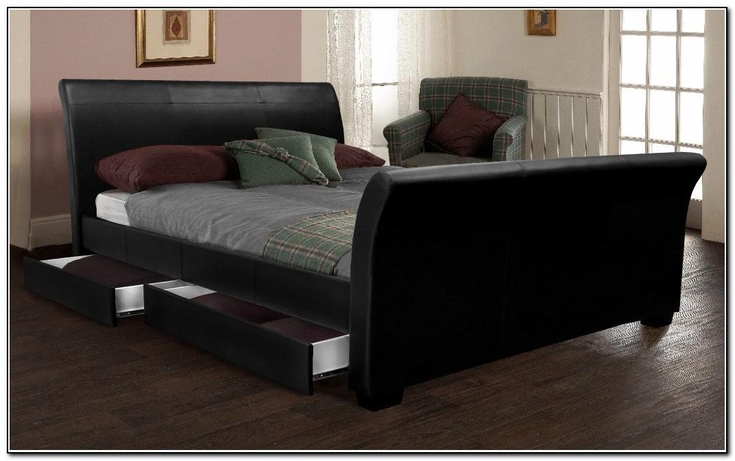 King Size Beds Black