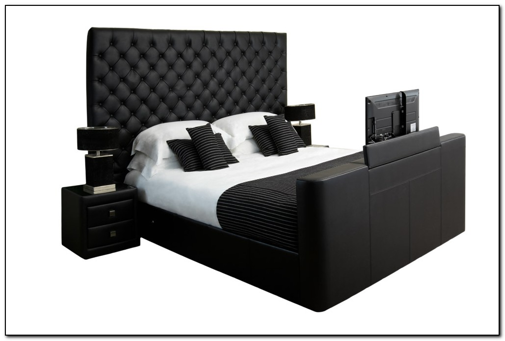 King Size Beds With Tv