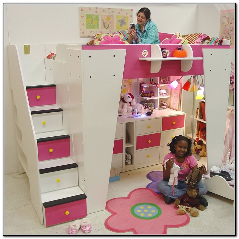 Loft Beds For Kids With Stairs