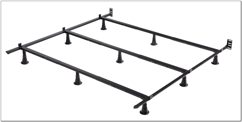 Metal Bed Frame Assembly