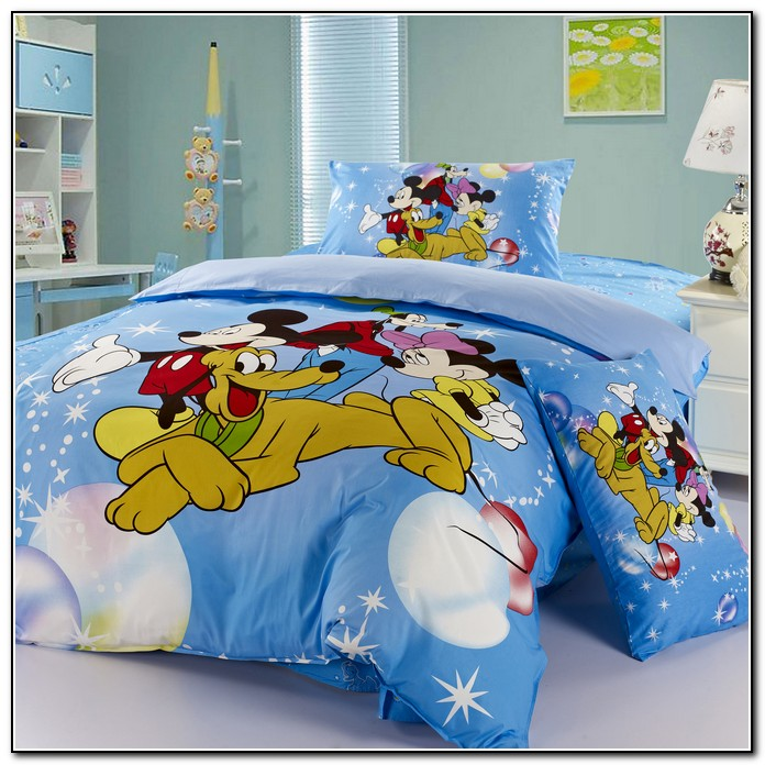 Mickey Mouse Toddler Bedding Sets