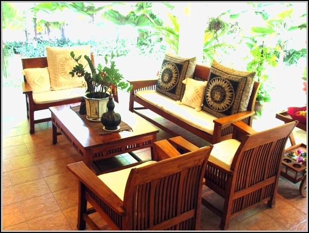 Modern Wood Patio Furniture