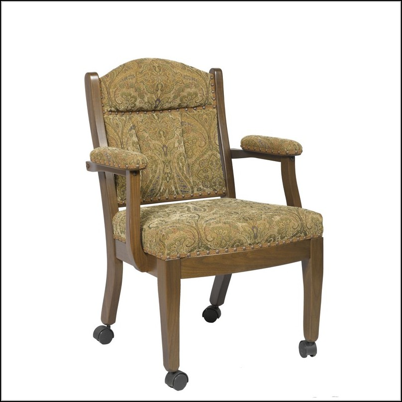 Oak Dining Chairs With Arms
