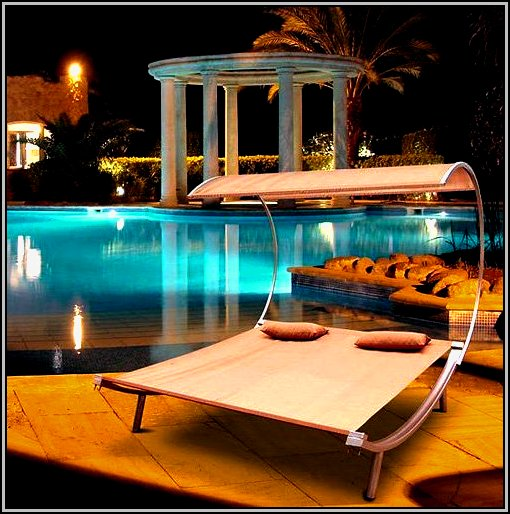 Outdoor Lounge Chairs With Canopy