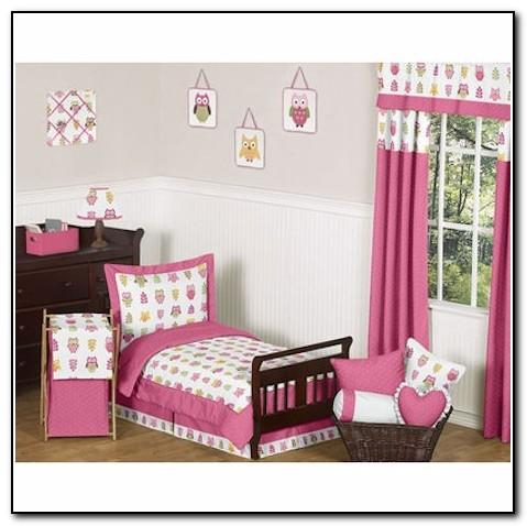Owl Toddler Bedding Sets