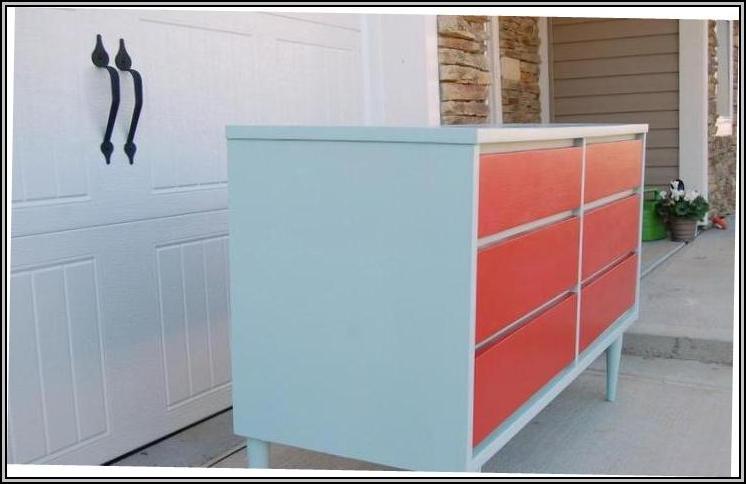 Painted Mid Century Furniture