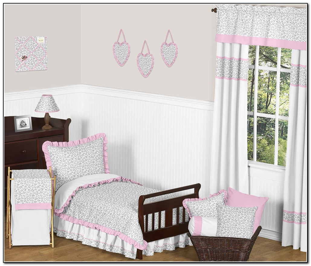 Pink Toddler Bedding Sets