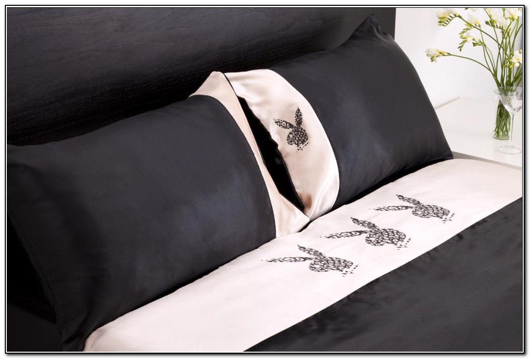 Playboy Bunny Bedding Sets Queen Size