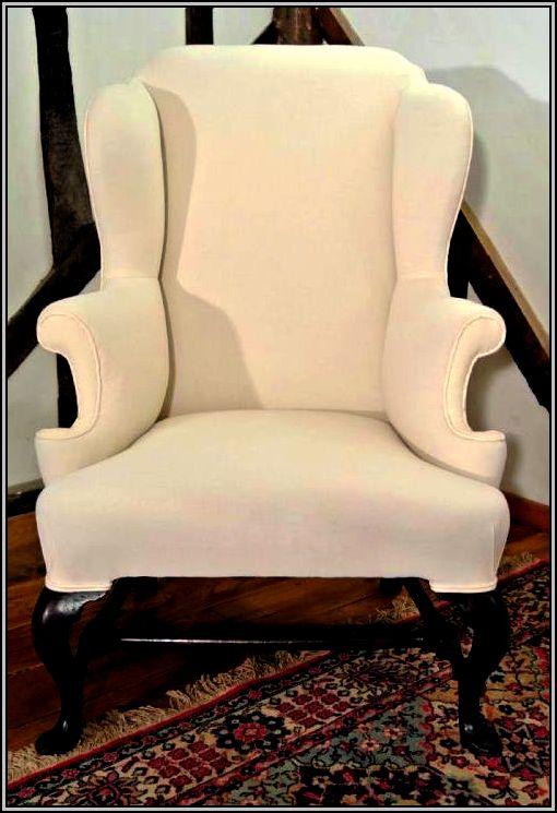 Queen Anne Chair Slipcover
