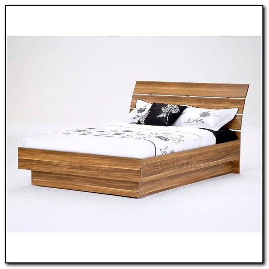 Queen Platform Bed With Headboard