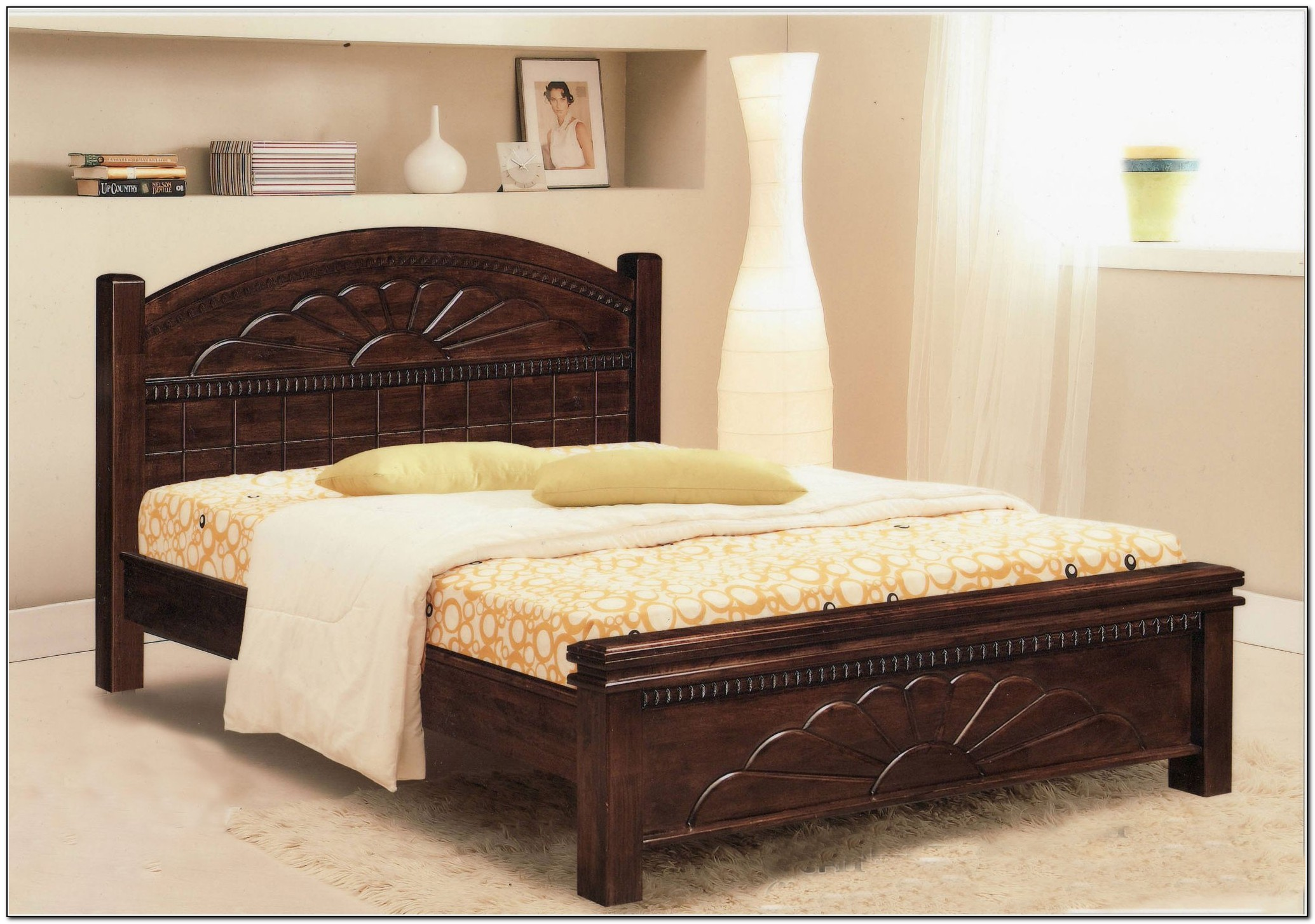 Queen Size Bed Frame Wood