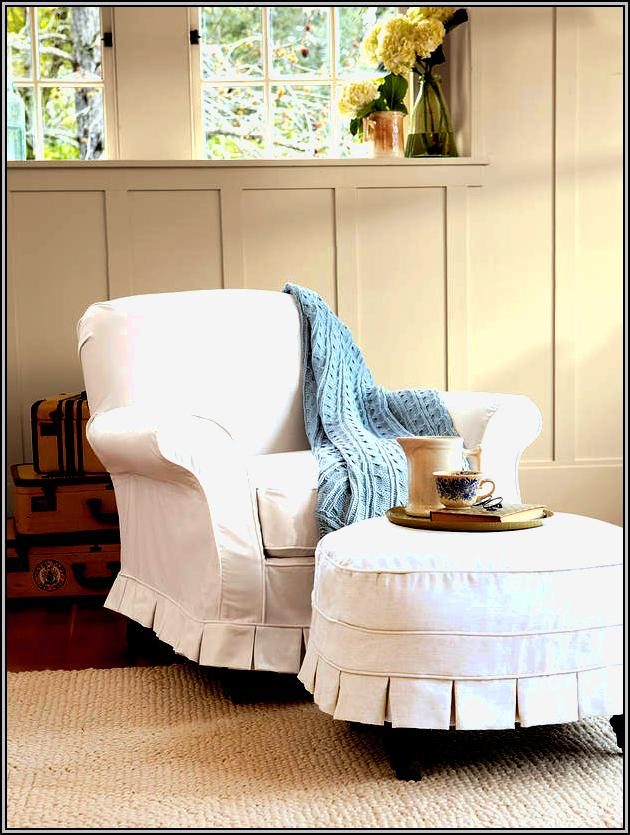 Slipcovers For Chairs And Ottomans