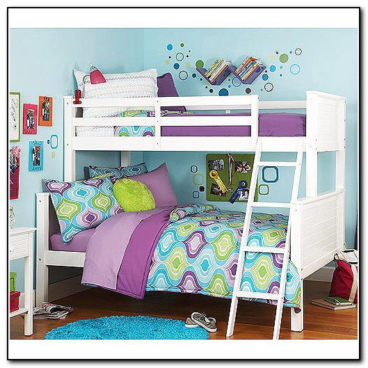 Twin Over Full Bunk Bed White