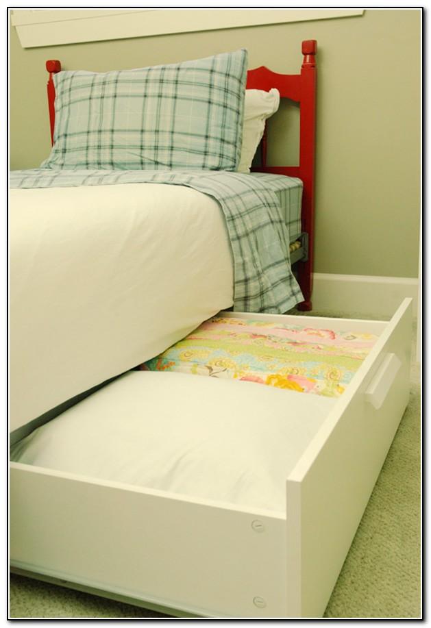 Under Bed Storage With Wheels