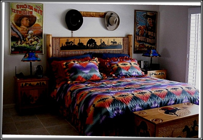 Western Rustic Bedroom Furniture