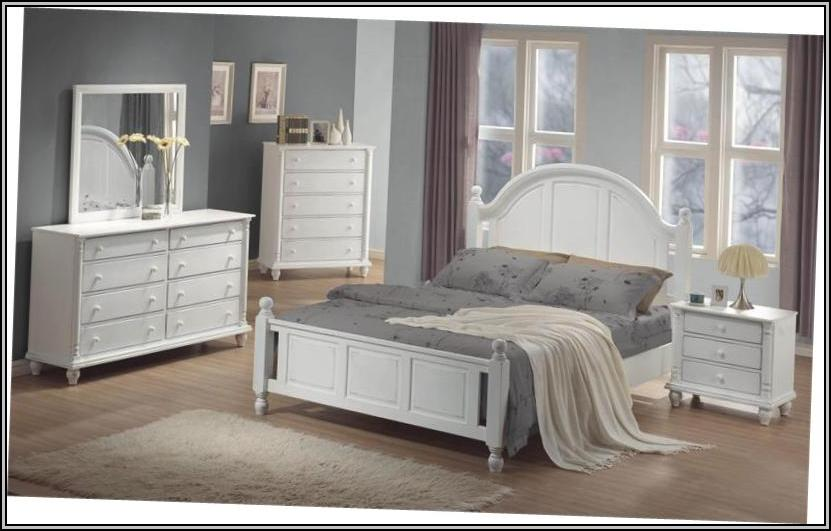 White Bedroom Furniture King