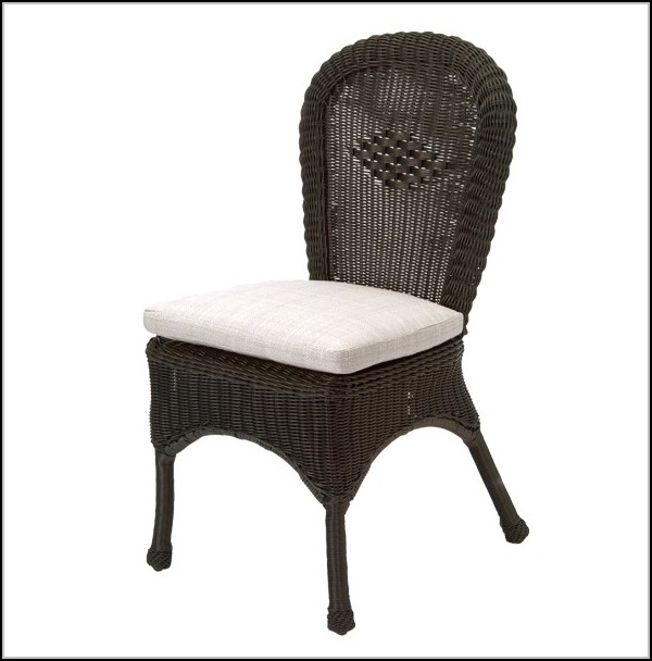 Wicker Dining Chairs With Arms