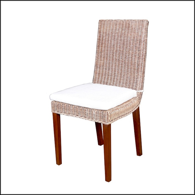 Wicker Dining Chairs With Cushions
