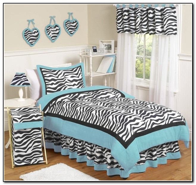 Zebra Print Bedding And Curtains