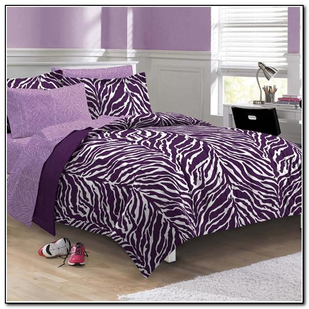 Zebra Print Bedding Queen