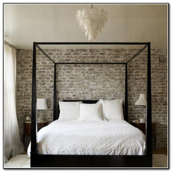 4 Poster Bed Modern