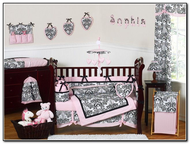 Baby Girl Crib Bedding Sets Design
