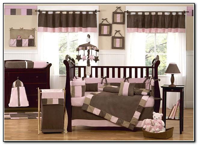Baby Girl Crib Bedding Sets Pink And Brown