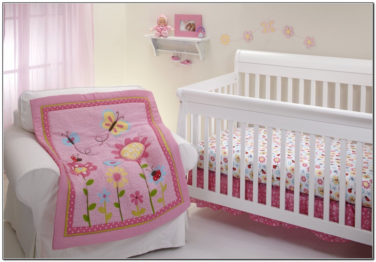 Baby Girl Crib Bedding Sets Under $100