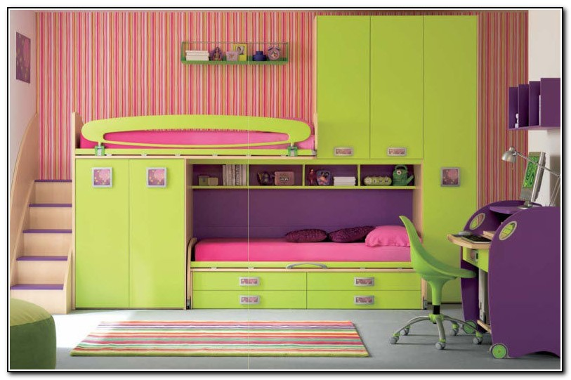 Bed With Storage For Kids