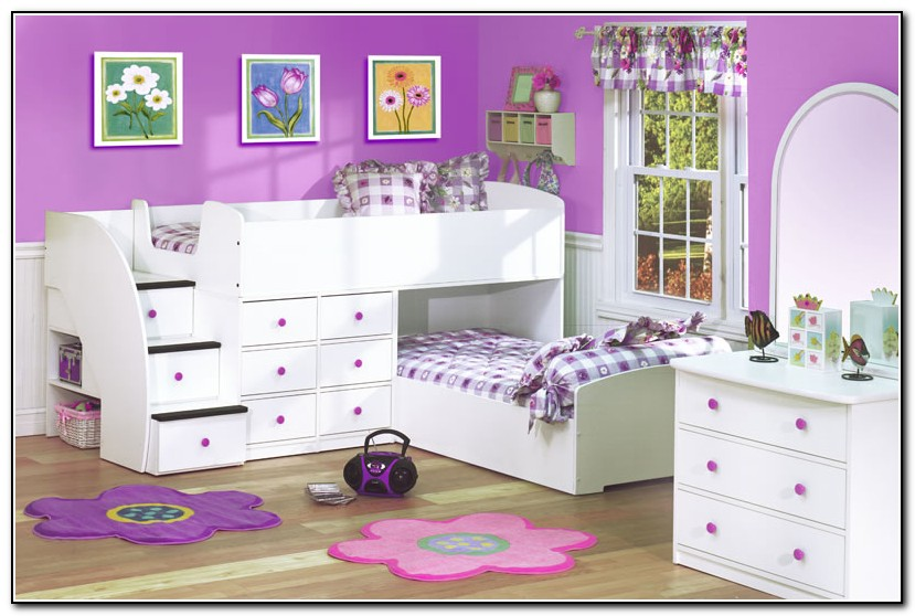 Bunk Beds For Girls With Stairs
