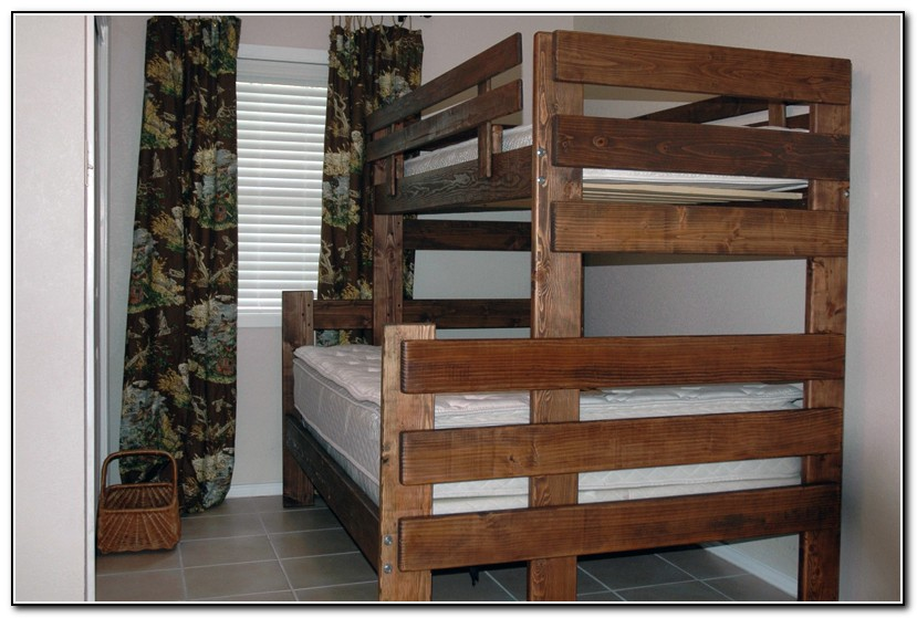 Bunk Beds Twin Over Full Plans