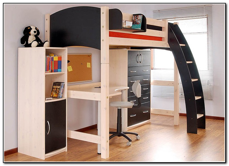 Bunk Beds With Desk For Adults