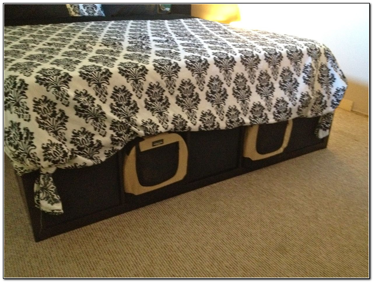 Cal King Bed Frame With Drawers