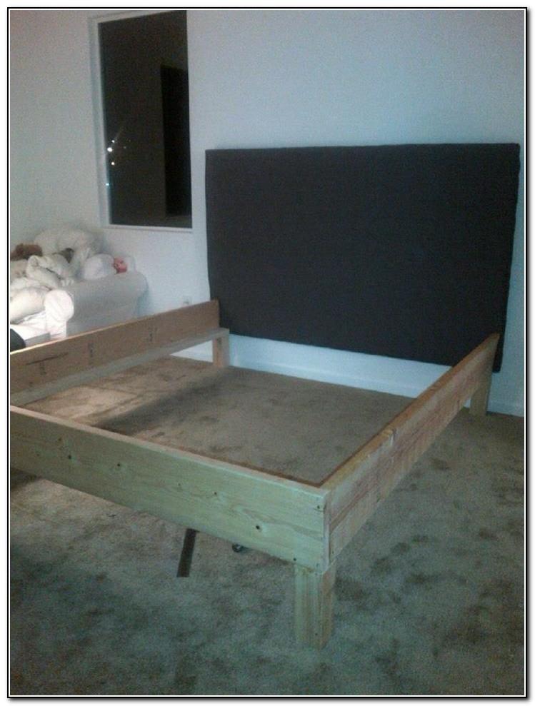 California King Bed Frame Plans