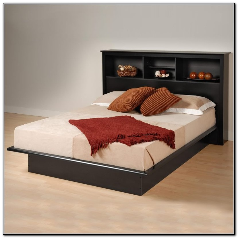 Cheap Platform Beds With Headboard