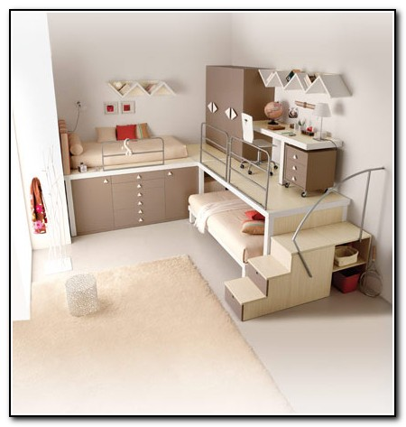 Cool Bunk Beds For Teenage Girls