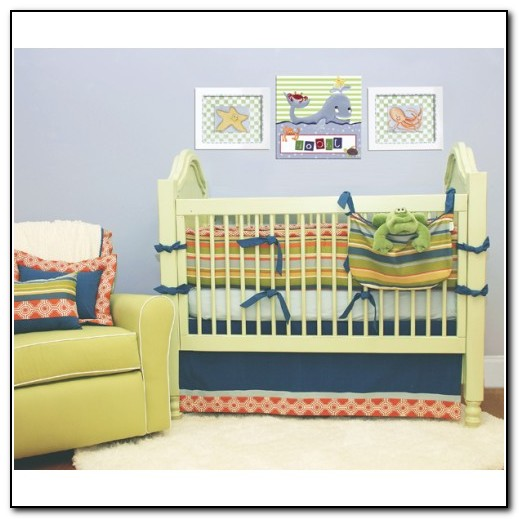 Designer Crib Bedding For Boys