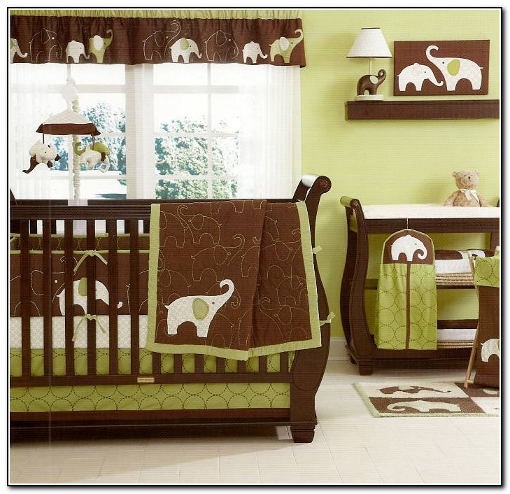 Elephant Baby Bedding For Boys