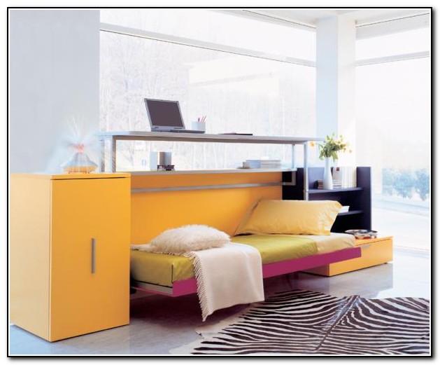 Fold Up Bed Desk