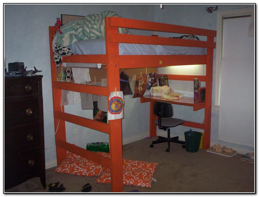 Full Loft Bed Plans
