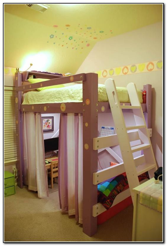 Full Loft Beds For Girls