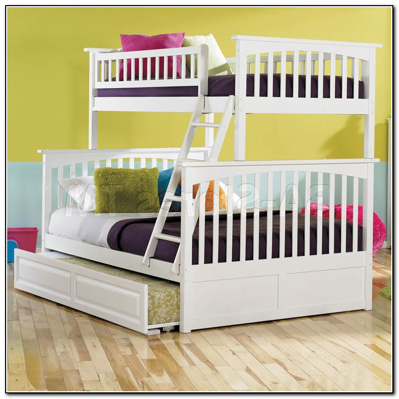 Full Over Twin Trundle Bed